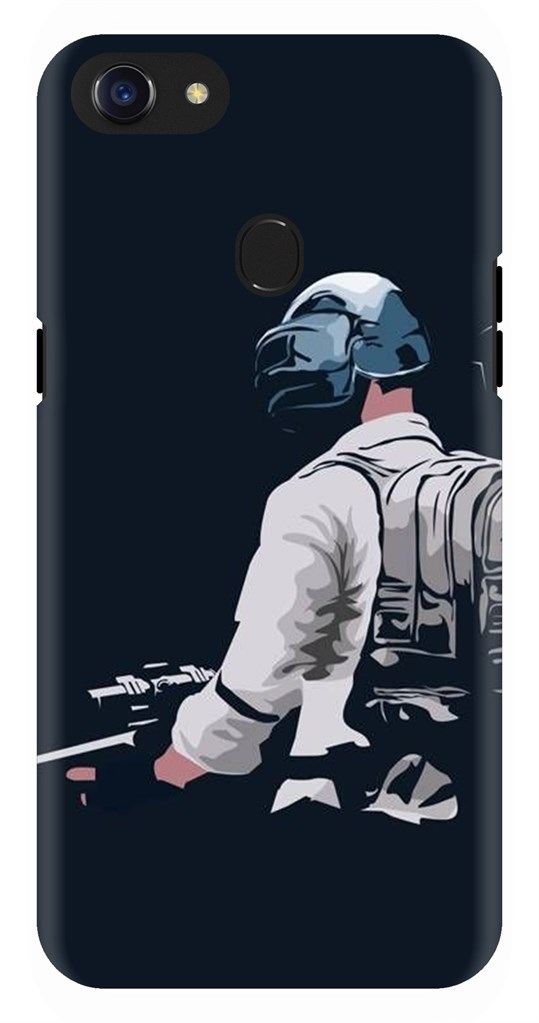 innovative design 86107 b832d Pubg Character With Sniper Back Case Cover for Oppo F7